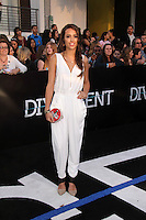 "Chelsea Gilligan<br /> at the ""Divergent"" Los Angeles Premiere, Regency Bruin Theatre, Westwood, CA 03-18-14<br /> Dave Edwards/DailyCeleb.com 818-249-4998"