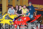 LAUNCH: Launching the Athea Motorcycle Race at The Gables in Athea on Thursday night, from left, Davey Broderick, Abbeyfeale, Martin Murphy and Andrew Murphy, Mountcollins, Mike Sheehan, Abbeyfeale, Paul Greaney, Rathkeale, Liz Coughlan, Ardagh, Aisling Coughlan, Templeglantine, and Valerie Cremin, Killeedy..
