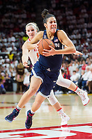 College Park, MD - DEC 29, 2016: Connecticut Huskies guard Kia Nurse (11) in action during game between No. 1 UConn and the No. 3 Terrapins at the XFINITY Center in College Park, MD. UConn defeated Maryland 87-81. (Photo by Phil Peters/Media Images International)