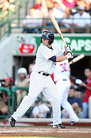 Lake County Captains Bo Greenwell during the Midwest League All Star Game at Parkview Field in Fort Wayne, IN. June 22, 2010. Photo By Chris Proctor/Four Seam Images