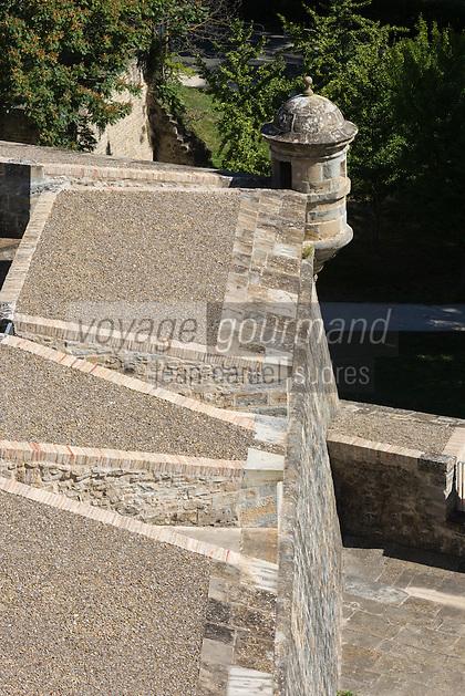 Espagne, Navarre, Pampelune:  Bastion du Redin  //  Spain, Navarre, Pamplona:  Redin bastion