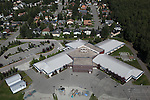 Muldoon Elementary School, Anchorage, Alaska. Aerial photograph (2011).