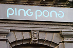 Exterior, Ping Pong Restaurant, London, city, England, UK, United Kingdom, Great Britain, Europe, European