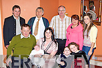 CELEBRATION TIME: Michael and Lorraine Dineen, Killarney, celebrate the christening of their baby Cua?n in Darby O'Gills, Killarney, on Sunday front l-r: Michael, Cua?n, Lorraine and Tiernan Dineen with Katlyn Morrissey. Back l-r: Philip and John Dineen, Batt O'Sullivan, Betty Dineen and Katie O'Connor.