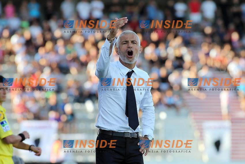 Fabrizio Ravanelli coach (Ajaccio)  <br /> Football Calcio 2013/2014<br /> Ligue 1 Francia<br /> Foto Panoramic / Insidefoto <br /> ITALY ONLY