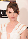 SANTA MONICA, CA - JANUARY 10: Clea DuVall  arrives at the 18th Annual Critics' Choice Movie Awards at The Barker Hanger on January 10, 2013 in Santa Monica, California.