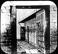 Slave Pen - Interior.  Alexandria, Va.  (Army)<br /> Exact Date Shot Unknown<br /> NARA FILE #:  111-BA-2145<br /> WAR & CONFLICT BOOK #:  111
