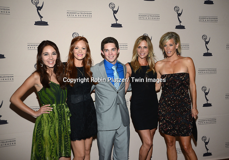 General Hospital group shot attends the Academy Of Television Arts & Science Daytime Programming  Peer Group Celebration for the 40th Annual Daytime Emmy Awards Nominees party on June 13, 2013 at the Montage Beverly Hills in Beverly Hills, California.