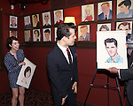 Leanne Cope and Robert Fairchild attend 'An American In Paris' Sardi's Caricature Unveiling at Sardi's on May 28, 2015 in New York City.