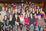 CHRISTMAS SAVINGS: Jim Maher (standing far left) Manager of Bank of Ireland Castle Street, Tralee, with all his staff gathered in Keane's bar & restaurant Curraheen, Tralee, for their annual Christmas dinner party on Friday December 12th.   Copyright Kerry's Eye 2008
