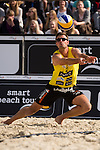 08.05.2015, Muenster, Schlossplatz<br /> smart beach tour, Supercup MŸnster / Muenster, Qualifikation<br /> <br /> Annahme Jan Romund<br /> <br />   Foto &copy; nordphoto / Kurth