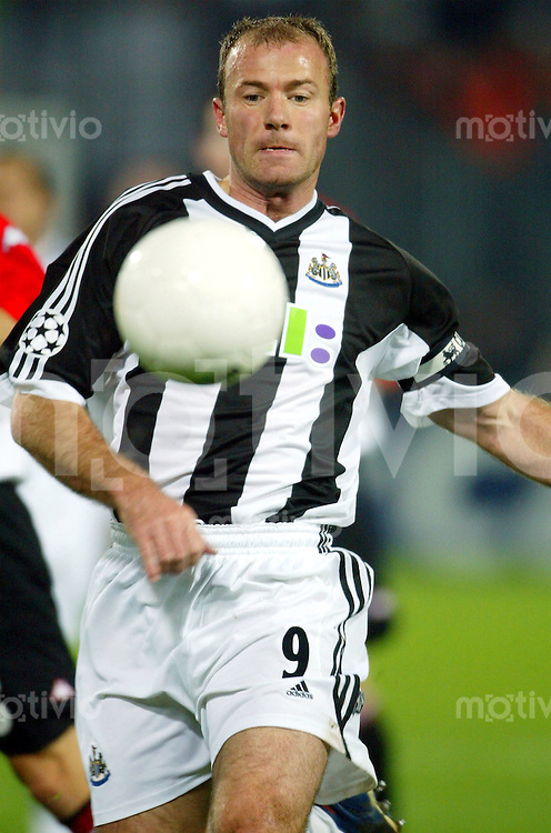 Fussball / International Champions League Saison 2002/2003 FC Newcastle United's Alan SHEARER