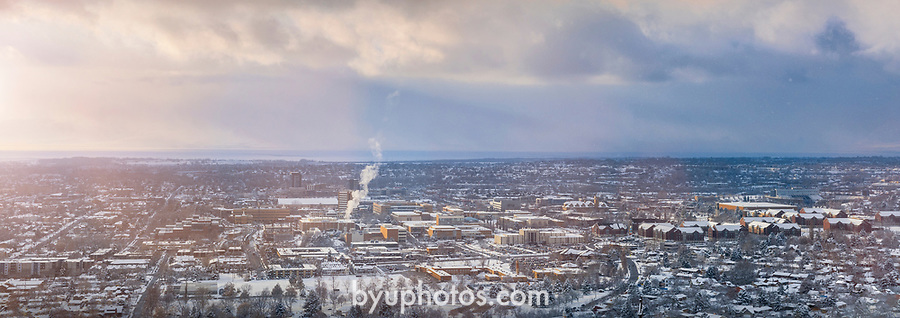 _RE_3043<br /> <br /> 1701-75 GCS Snow- Y Mountain Overlook<br /> <br /> December 9, 2016<br /> <br /> Photography by Nate Edwards/BYU<br /> <br /> © BYU PHOTO 2016<br /> All Rights Reserved<br /> photo@byu.edu  (801)422-7322