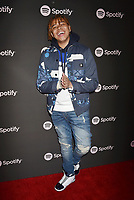 LOS ANGELES, CA - FEBRUARY 07: YBN Cordae attends Spotify's Best New Artist Party at the Hammer Museum on February 07, 2019 in Los Angeles, California.<br /> CAP/ROT/TM<br /> ©TM/ROT/Capital Pictures