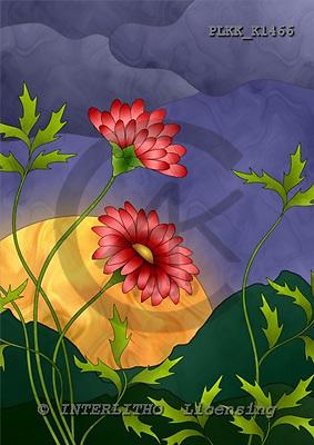 Kris, FLOWERS, paintings, PLKKK1466,#f#