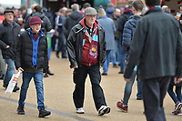 West Ham Fans arrive  during West Ham United vs Burnley, Premier League Football at The London Stadium on 10th March 2018