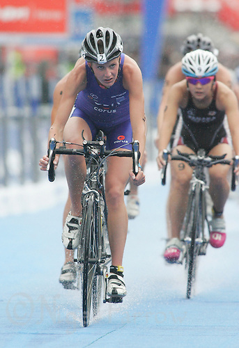 31 AUG 2007 - HAMBURG, GER - Rosie Clarke (GBR) - Under 23 Womens World Triathlon Championships. (PHOTO (C) NIGEL FARROW