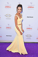 Emily Andre at the Caudwell Children Butterfly Ball at the Grosvenor House Hotel in London, UK.<br /> 25th May 2017.<br /> Picture: Steve Vas/Featureflash/SilverHub 0208 004 5359 sales@silverhubmedia.com