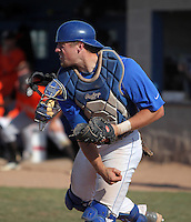 Buffalo Bulls catcher Tom Murphy #19 during a game against the Bowling Green Falcons at Amherst Audubon Field on May 17, 2012 in Amherst, New York.  Buffalo defeated Bowling Green 14-0.  (Mike Janes/Four Seam Images)