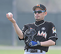 Ichiro Suzuki (Marlins),<br /> FEBRUARY 19, 2017 - MLB :<br /> Miami Marlins spring training baseball camp in Jupiter, Florida, United States. (Photo by AFLO)