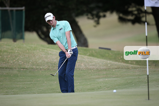 Tom Murray (ENG) chips to the 7th during Round One of the Africa Open 2015 at the East London Golf Club, East London, Eastern Cape, South Africa. Picture:  David Lloyd / www.golffile.ie. 05/03/2015