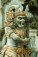 Temple carving, Sanur, Bali