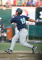 July 28th 2007:  Yonder Alonso during the Cape Cod League All-Star Game at Spillane Field in Wareham, MA.  Photo by Mike Janes/Four Seam Images