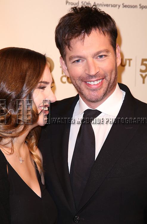 Charlotte Connick and Harry Connick Jr. attends the Roundabout Theatre Company's  50th Anniversary Gala at The Waldorf-Astoria on February 29, 2016 in New York City.