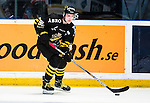 Stockholm 2014-09-27 Ishockey Hockeyallsvenskan AIK - Mora IK :  <br /> AIK:s Robin Kovacs <br /> (Foto: Kenta J&ouml;nsson) Nyckelord:  AIK Gnaget Hockeyallsvenskan Allsvenskan Hovet Johanneshovs Isstadion Mora MIK portr&auml;tt portrait