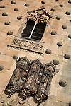 Casa de las Conchas House, Salamanca, Castile and Leon, Spain