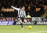 David Clarkson in the St Mirren v Falkirk Scottish Professional Football League Ladbrokes Championship match played at the Paisley 2021 Stadium, Paisley on 1.3.16.