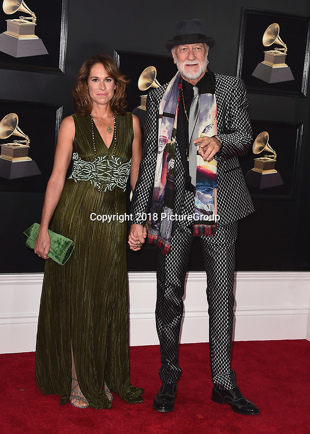 NEW YORK - JANUARY 28:  Mick Fleetwood at the 60th Annual Grammy Awards at Madison Square Garden on January 28, 2018 in New York City. (Photo by Scott Kirkland/PictureGroup)