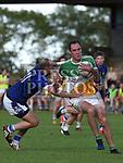 St Josephs Conal O'Hanlon St Marys Darren Clarke. Photo:Colin Bell/pressphotos.ie