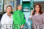 Audrey Moran, Julie O'Sullivan (First Responder) and Eileen Whelan showing the damaged Defibrillator in the Mall on Monday.