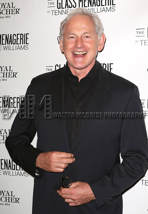 Victor Garber  attends the Broadway Opening Night Performance of 'The Glass Menagerie' at the Booth Theatre in New York City on September 16, 2013.