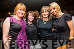 Nora O'Connor, Shelly Browne, Jenny Mathews and Jennifer Jones enjoying the Sharon Shannon concert at O'Riada's Bar on Friday