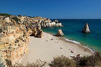 Portugal, Algarve, near Alvor: Praia da Prainha