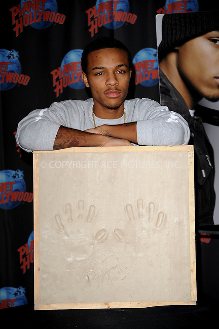 WWW.ACEPIXS.COM . . . . .....February 23, 2009. New York City... ..Rapper Bow Wow visits Planet Hollywood Times Square on February 23, 2009 in New York City.....Please byline: Kristin Callahan - ACEPIXS.COM..... *** ***..Ace Pictures, Inc:  ..Philip Vaughan (646) 769 0430..e-mail: info@acepixs.com..web: http://www.acepixs.com