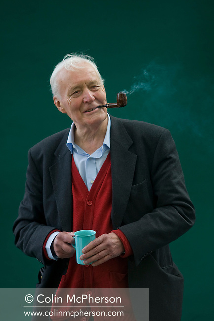Veteran British politician and parliamentarian Tony Benn pictured at the Edinburgh International Book Festival where he talked about his career in politics. The three-week event is the world's biggest literary festival and is held during the annual Edinburgh Festival. 2008 was the Book Festival's 25th anniversary and featured talks and presentations by more than 500 authors from around the world.