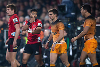 Jaguares' Joaquin Diaz Bonilla during the 2019 Super Rugby final between the Crusaders and Jaguares at Orangetheory Stadium in Christchurch, New Zealand on Saturday, 6 July 2019. Photo: Joe Johnson / lintottphoto.co.nz