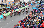 Rick Zabel (GER) Katusha-Alpecin wins Stage 2 of the 2019 Tour de Yorkshire, running 132km from Barnsley to Bedale, Yorkshire, England. 3rd May 2019.<br /> Picture: ASO/SWPix   Cyclefile<br /> <br /> All photos usage must carry mandatory copyright credit (&copy; Cyclefile   ASO/SWPix)