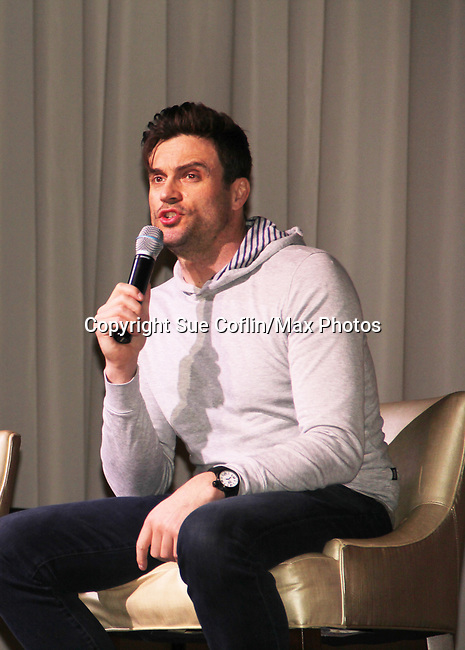 The Young and The Restless actor Daniel Goddard came together on February 16, 2019 for a fan q & a, meet and great with autographs and photo taking hosted by Soap Opera Festival's Joyce Becker at the Hollywood Casino in Columbus, Ohio. (Photos by Sue Coflin/Max Photos)