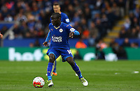 Ngolo Kante of Leicester City during the Barclays Premier League match between Leicester City and Swansea City played at The King Power Stadium, Leicester on 24th April 2016