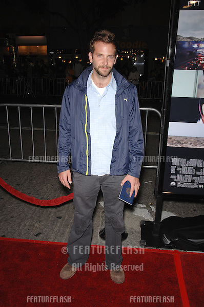 "BRADLEY COOPER at the Los Angeles premiere of ""Babel""..November 5, 2006  Los Angeles, CA.Picture: Paul Smith / Featureflash"