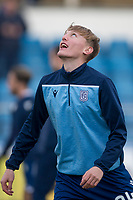 1st February 2020; Cappielow Park, Greenock, Inverclyde, Scotland; Scottish Championship Football, Greenock Morton versus Dundee Football Club; Max Anderson of Dundee during the warm up before the match