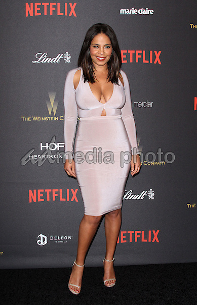 10 January 2016 - Los Angeles, California - Sanaa Lathan. 2016 Weinstein Company & Netflix Golden Gloves After Party held at the Beverly Hilton Hotel. Photo Credit: AdMedia