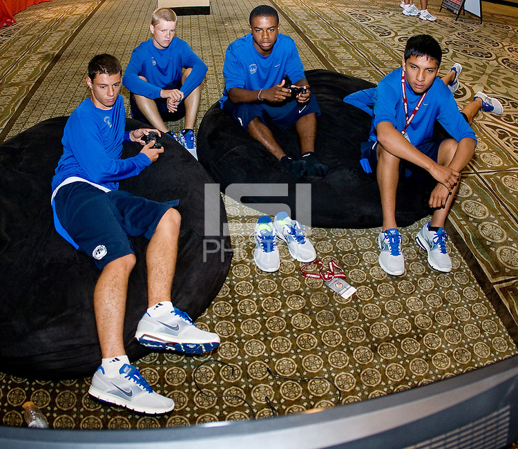 2010 US Soccer Developmental Academy Finals at Home Depot Center stadium in Carson, California on Sunday July 11, 2010..