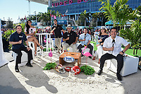 MIAMI, FL - FEBRUARY 2: FOX Deportes at the Fox Sports broadcast of Super Bowl LIV at Hard Rock Stadium on February 2, 2020 in Miami, Florida. (Photo by Frank Micelotta/Fox Sports/PictureGroup)