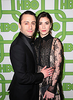 BEVERLY HILLS, CA - JANUARY 6: Kieran Culkin, Jazz Charton, at the HBO Post 2019 Golden Globe Party at Circa 55 in Beverly Hills, California on January 6, 2019. <br /> CAP/MPI/FS<br /> ©FS/MPI/Capital Pictures