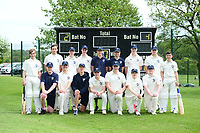 Picture by SWpix.com - 09/052018 Yorkshire Cricket College first ever game v Woodhouse grove School, Apperley Bridge, Bradford - team members and players of take to field for The Yorkshire Cricket College first ever game v Woodhouse Grove School -<br />